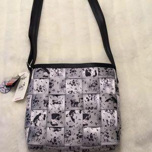 Harveys Disney Steamboat Willie Mini Messenger Bag
